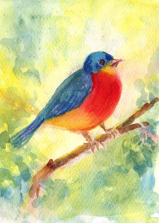 """Birdie 5""""x 7"""" - Image 0"""