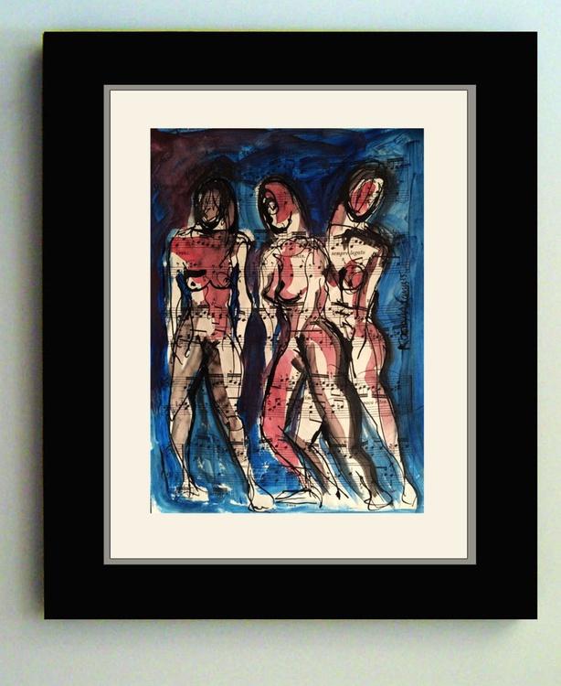 Three Female Figures - Image 0