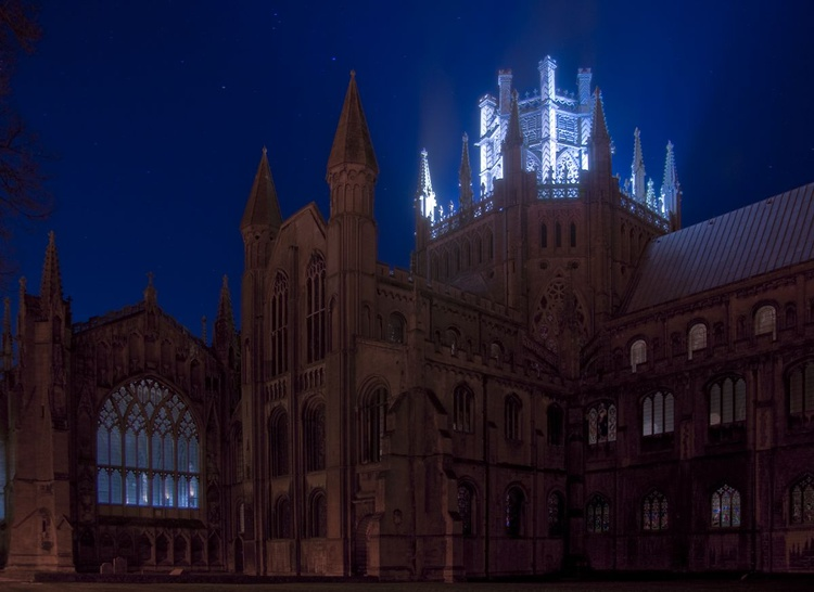 Ely Cathedral at night - Image 0