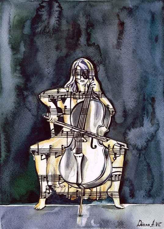 Cello Player 1