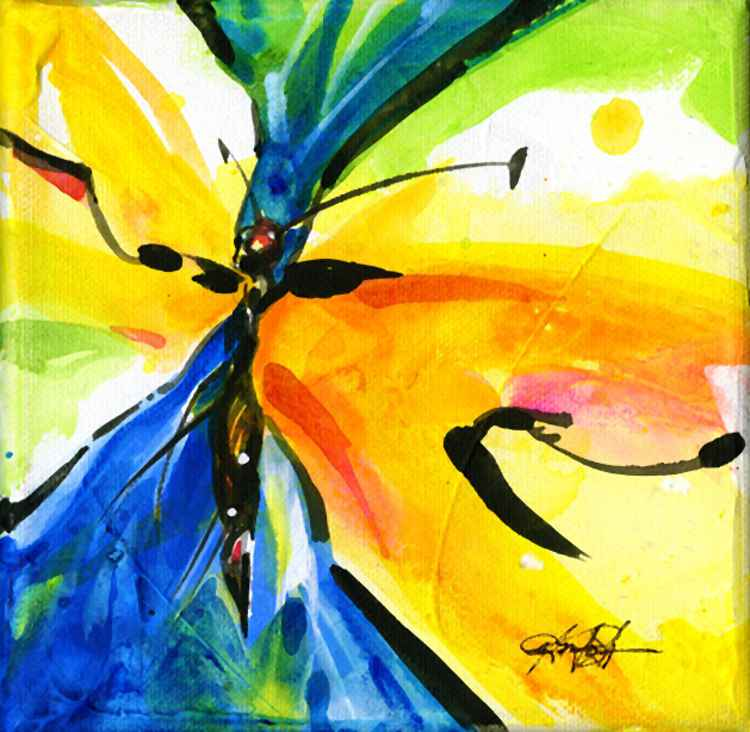 Butterfly Bliss No.3 -