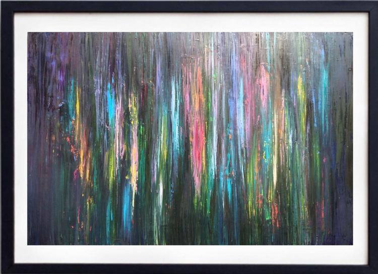Colors of night, 90×60 cm, origial art, FREE SHIPPING - Image 0