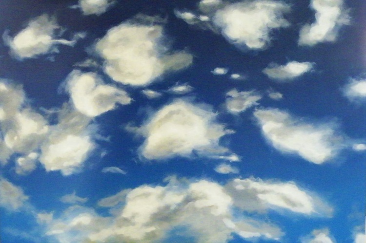 Title: What were the skies like when u were young? ( Little Fluffy Clouds) - Image 0