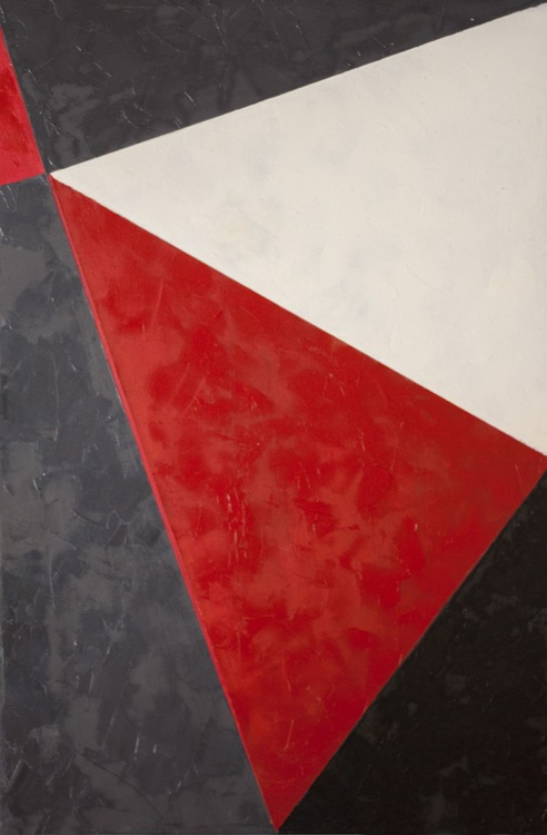Red and Black Abstraction - Image 0