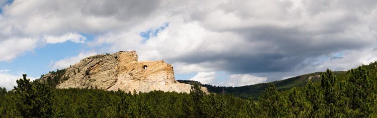Crazy Horse Memorial (150x51cm) - Image 0