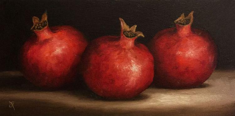 Three Pomegranates - Image 0