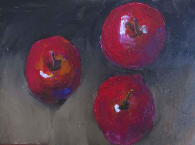 Bobbing apples