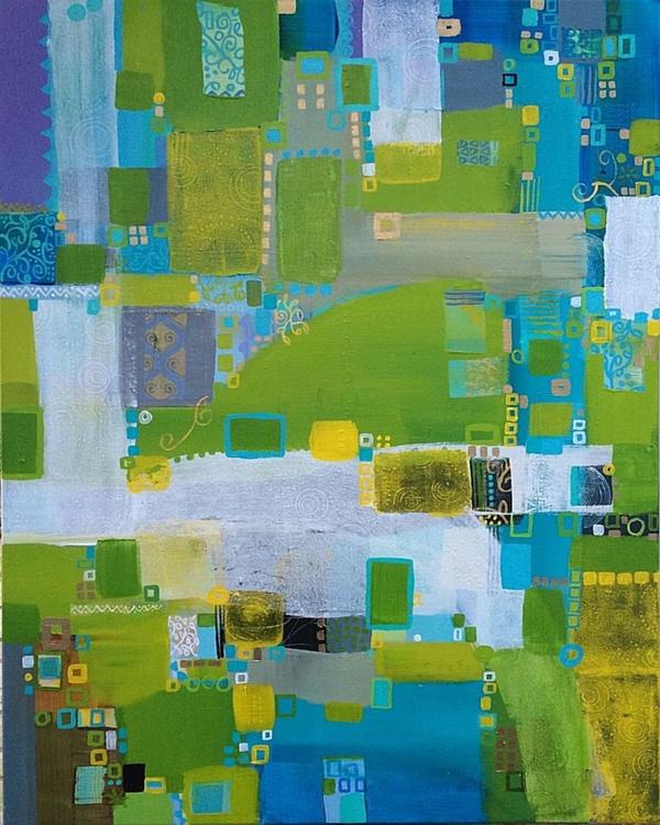 Patchwork Life(80x60cm) - Image 0