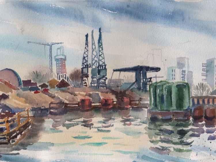The Big Dig, Canary Wharf -