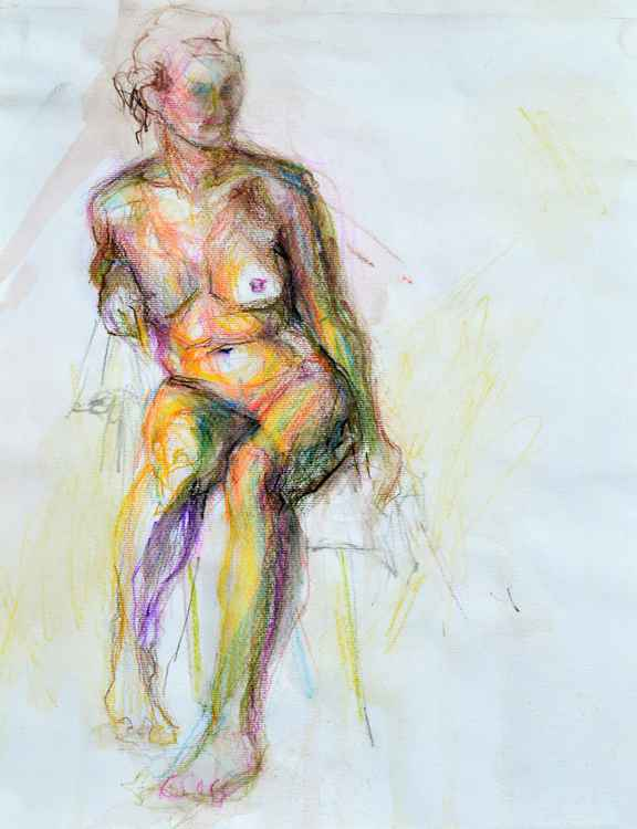 Colorfull nude -