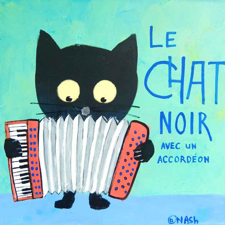 Le Chat Noir -- accordion -