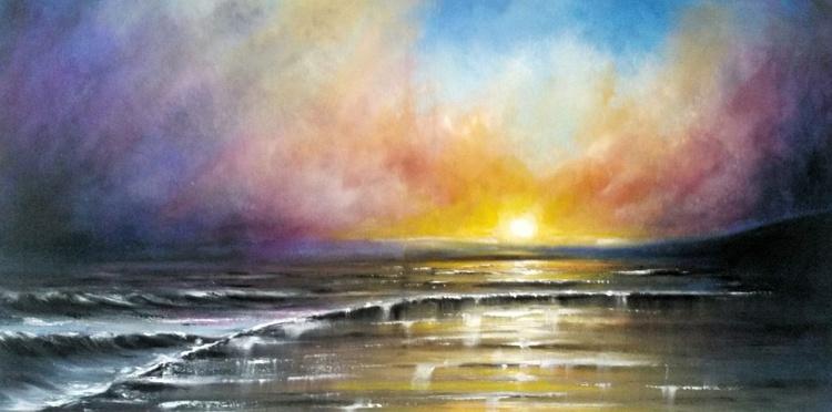 Sunset surf  LARGE... - Image 0