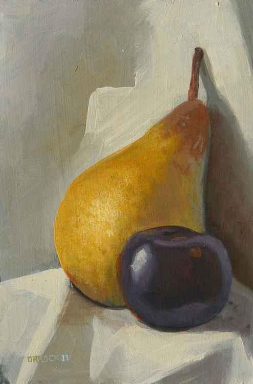 A plum pear