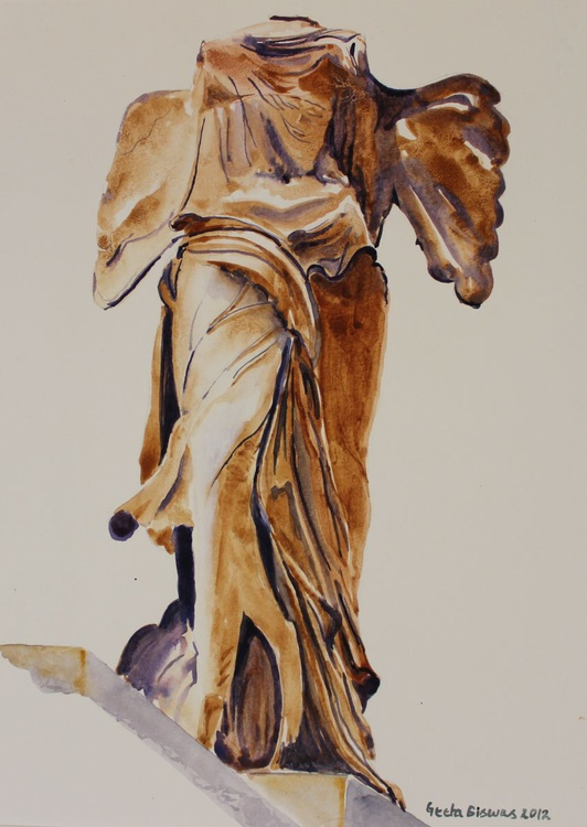 Another Perspective Of The Winged Lady Of Samothrace - Image 0