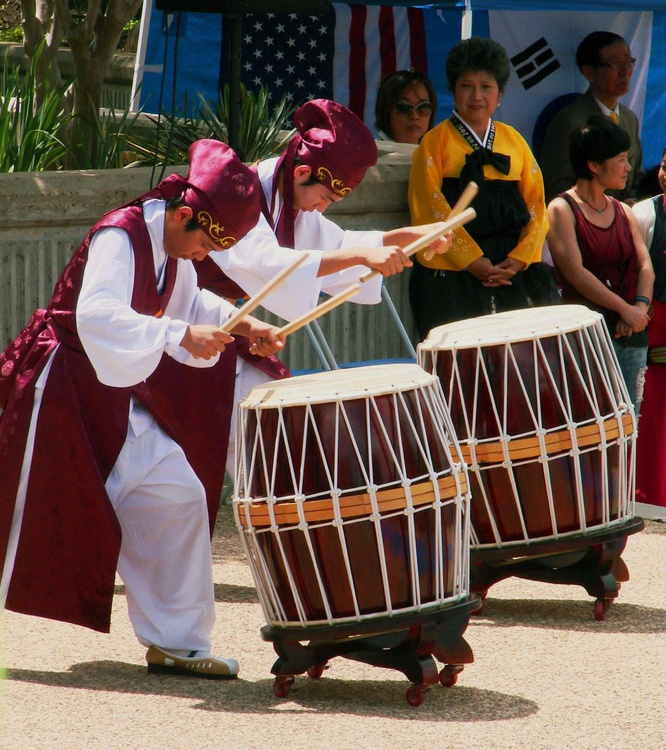 Asian Festival drummers  - Image 0
