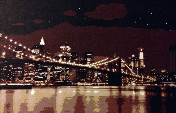 Brooklyn Bridge by Night - Image 0