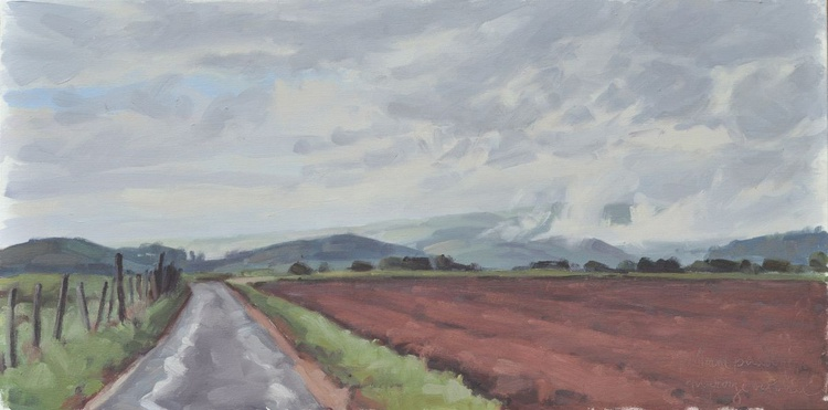 October 14, country lane, after the rain - Image 0