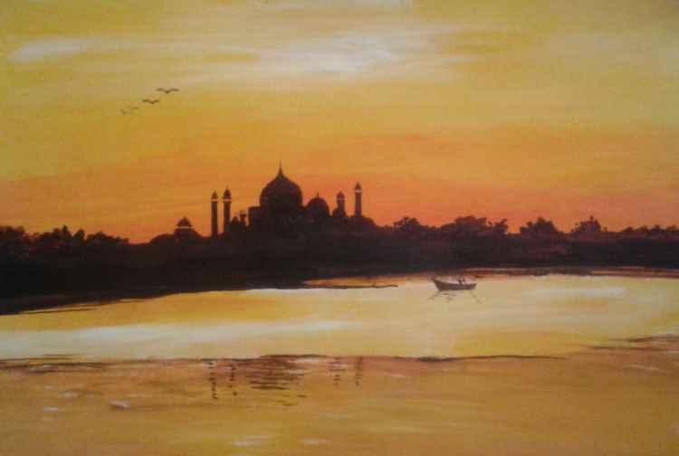 wonder of Taj-mahal  -