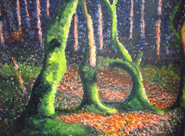 Fluorescent Forest - Image 0