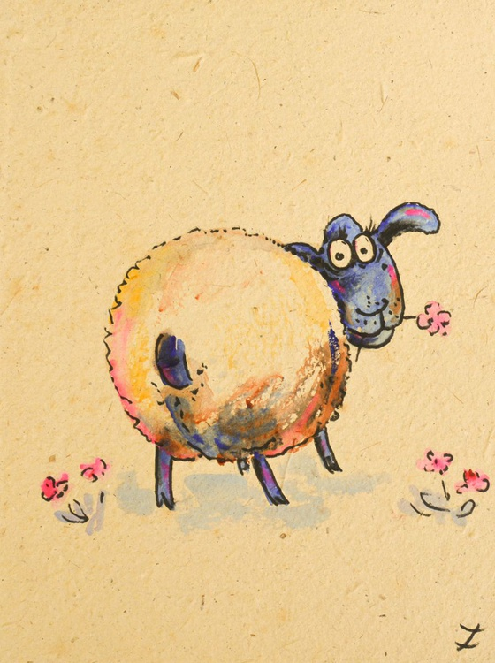 Funny Sheep. Collectible Series - Image 0