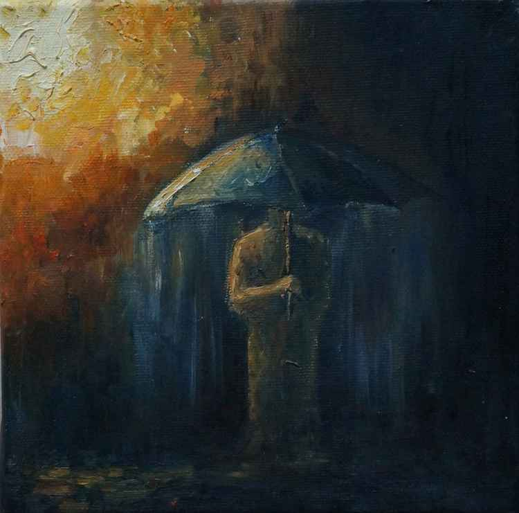 In the rain II -