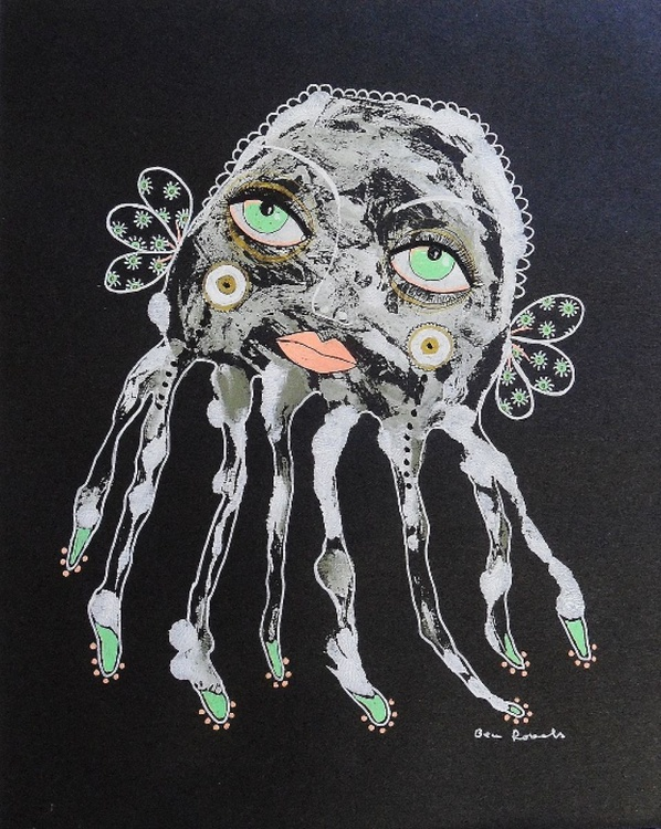 Quirky Octopus With The Green Eyes - Image 0