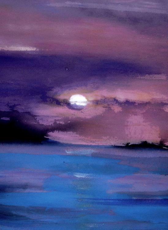 [128] Sky Over Pembroke Bay - Image 0