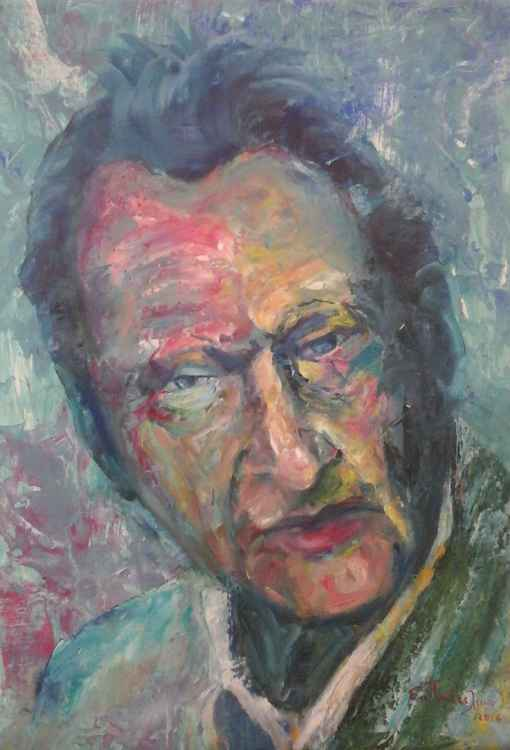 Portrait:  Lucian Michael Freud (1922-2011) -