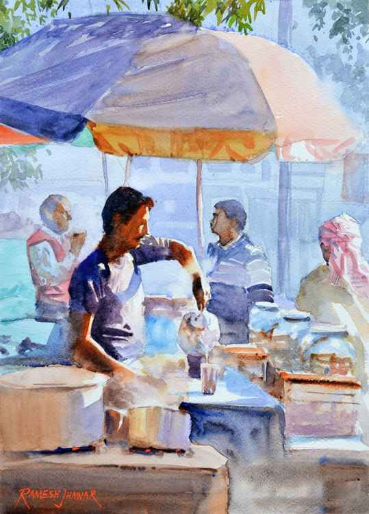 The Chaiwallah (Tea Vendor) -