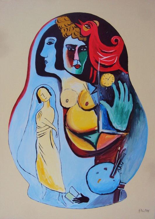 Chagall Matryoshka - Image 0