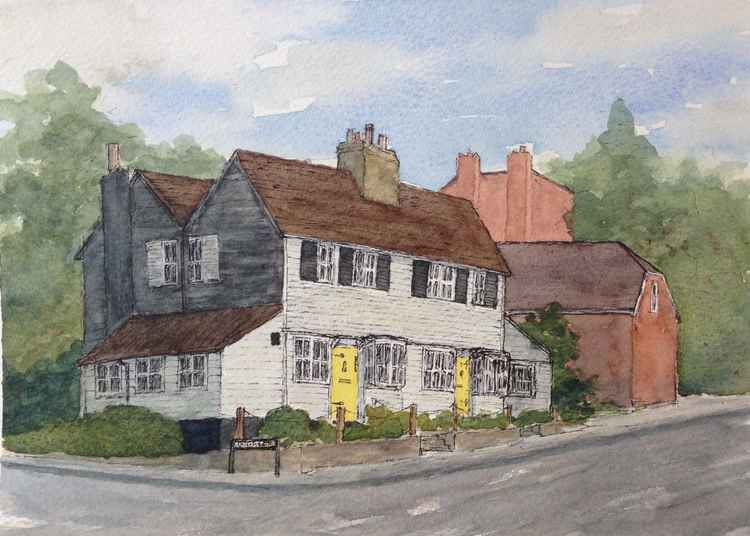 House with Yellow Doors, Epsom