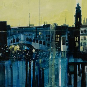 Rialto Bridge, Venice 16.1.14 by Julian Sutherland-Beatson