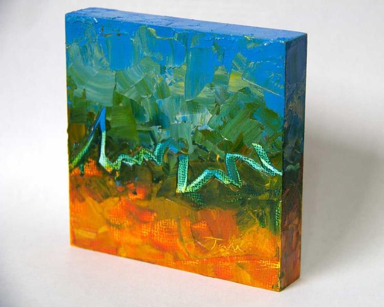 Rhythm - miniature abstract - Image 0