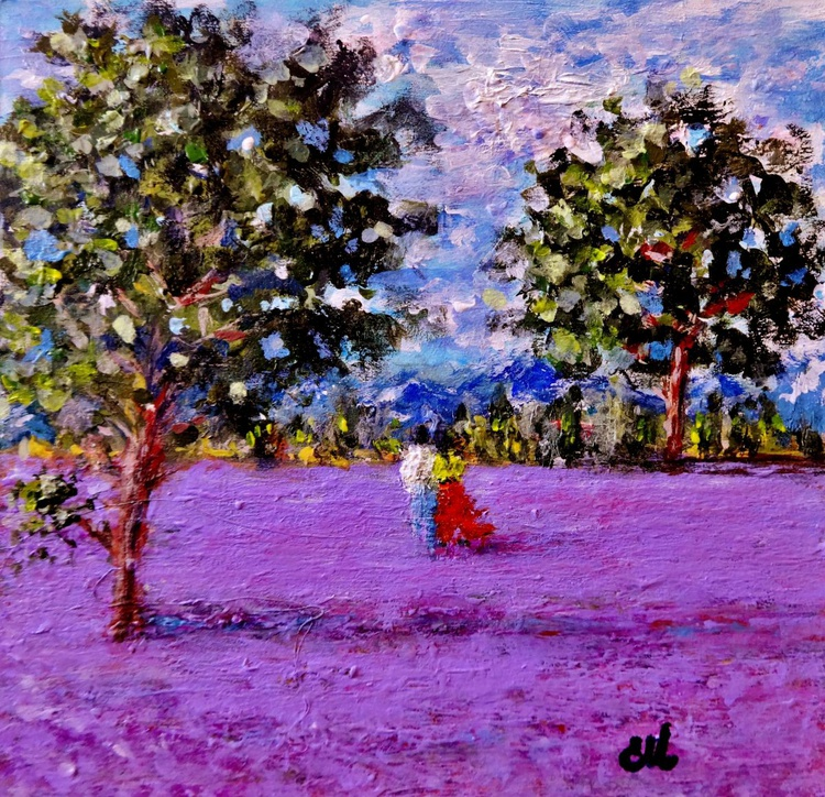 Lost in a field of lavender.. - Image 0