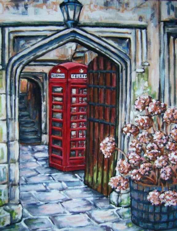 Magdalen College Telephone Box -
