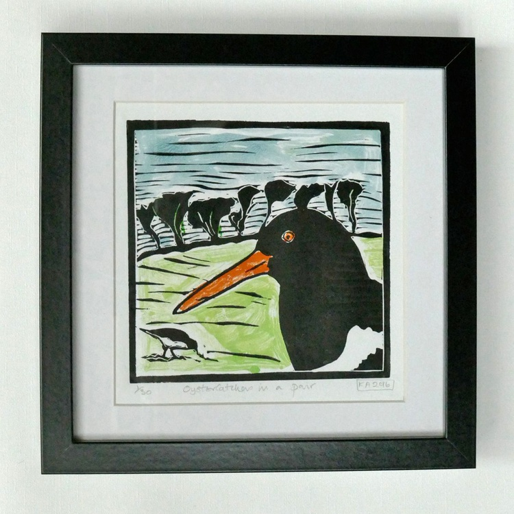 Oystercatchers in a Pair - Image 0