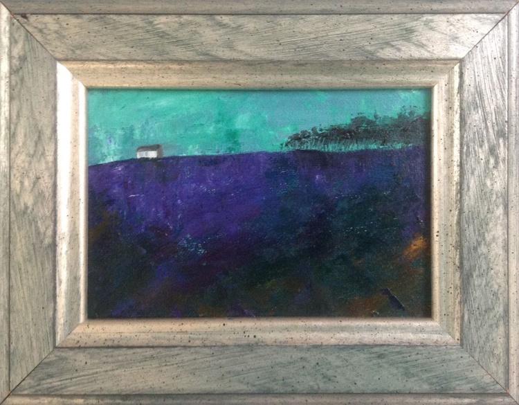 Moorland Morning ( framed original) - Image 0