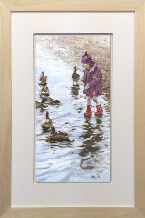 Feeding the Ducks - Image 0