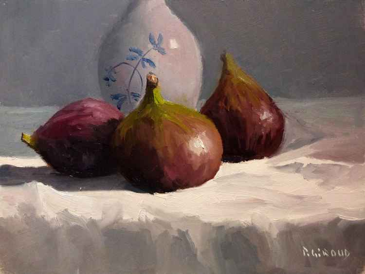 Figs and a Vase