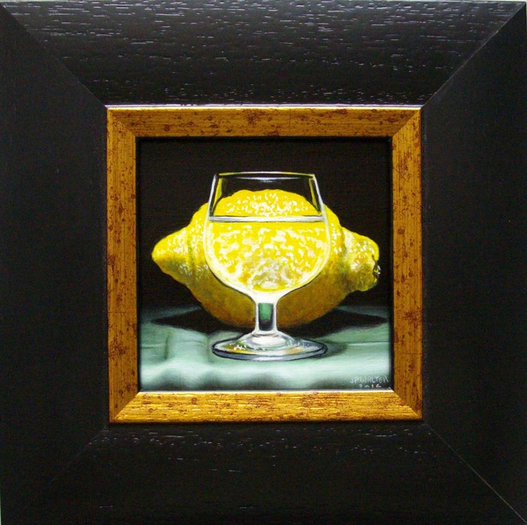 Through a glass of brandy IV - Image 0
