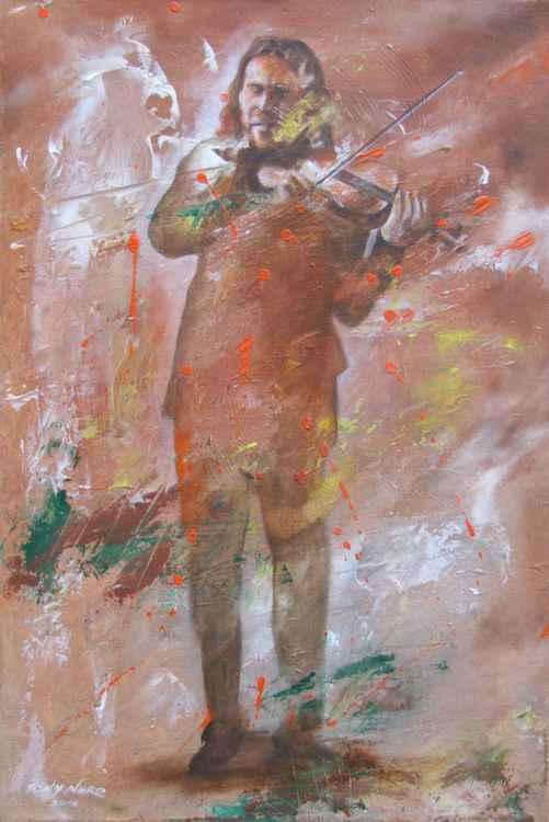 Street Musician Fiddler