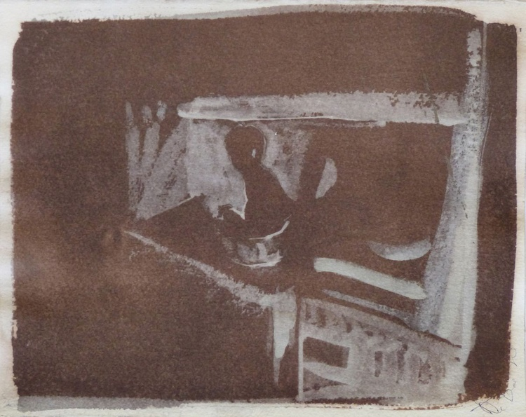 Little Boy in the Bath, 24x30 cm - Image 0