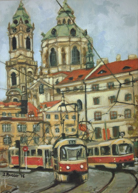 The red tramways of Prague - Image 0