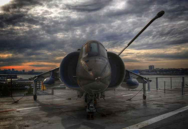 Harrier Jump Jet at rest -