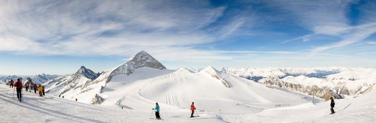Hintertux Glacier, Zillertal. (171x61cm) - Image 0