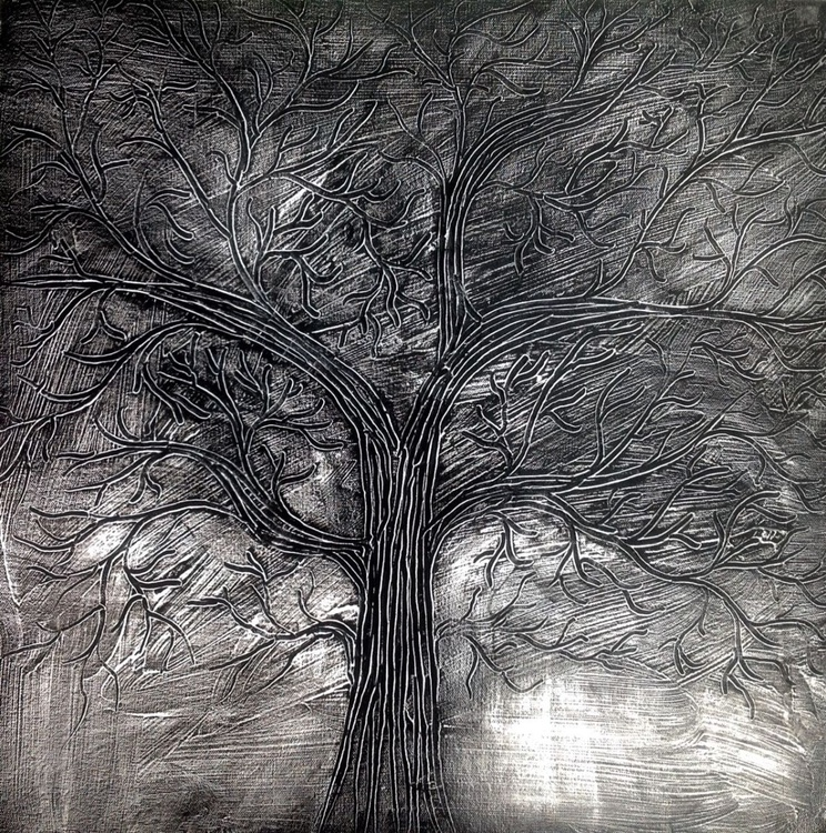 Essence of a Tree - Black and White - Image 0