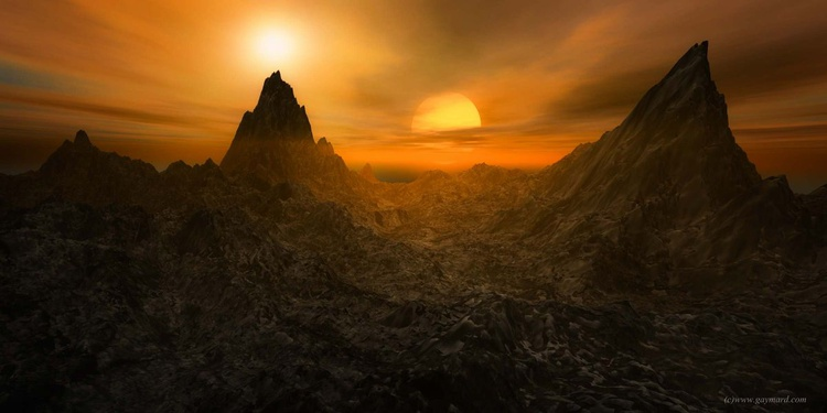 The two suns - Image 0