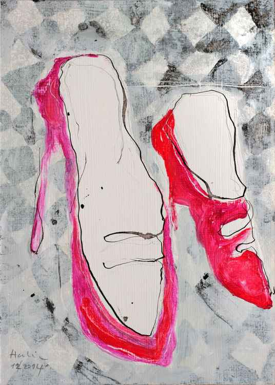 Red shoes -