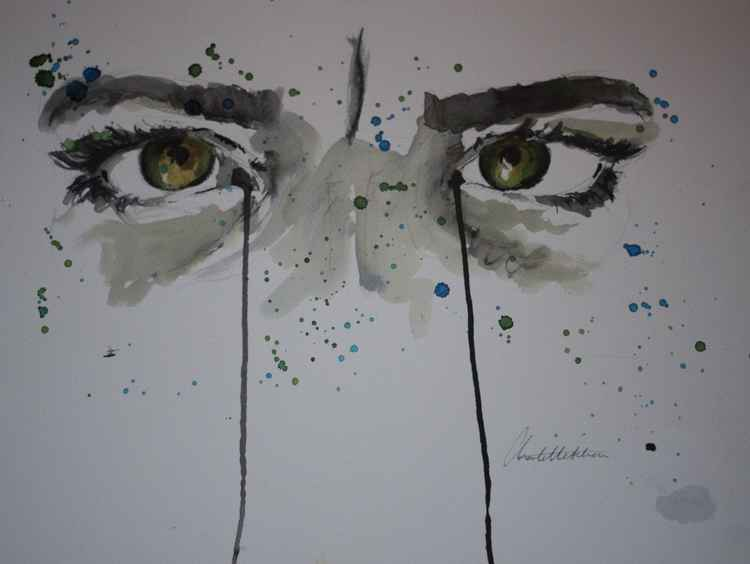 """""""Series of Eyes"""" Kate 2 -"""