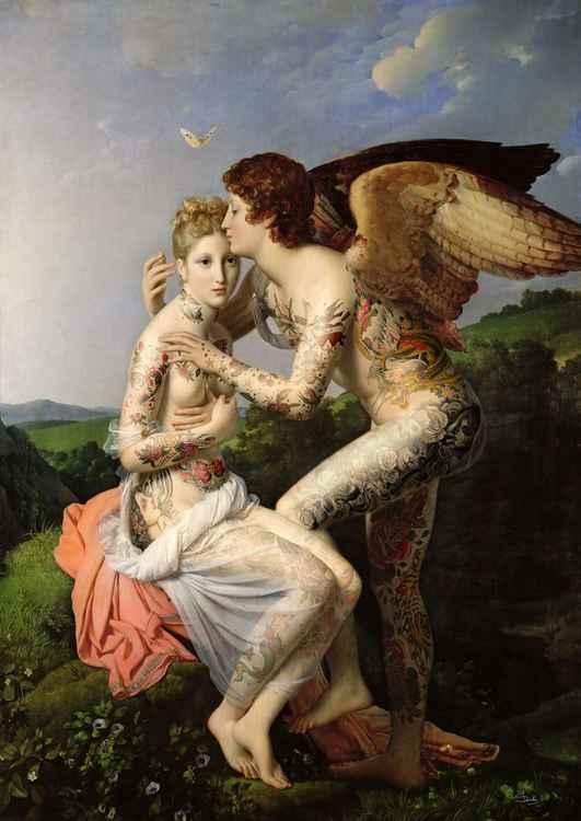 Cupid + Psyche -